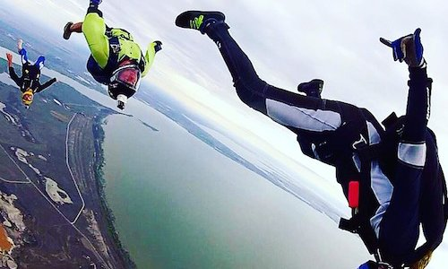 Women in the sport at SA Skydiving - Bria Smith