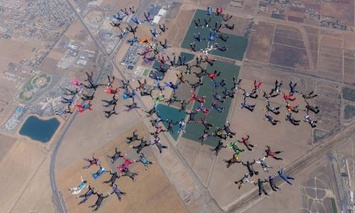 Women in the sport at SA Skydiving - Skye Scheepens