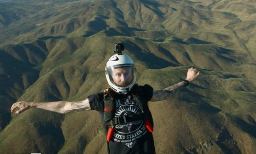 Wow - This skydiving video has to be seen to be believed!