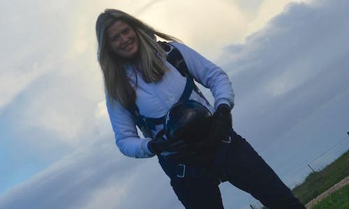 Women in the Sport at SA Skydiving - Nicole Fleet