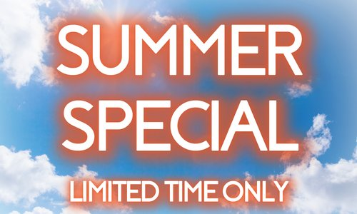Incredible Summer Special Back For A Limited Time