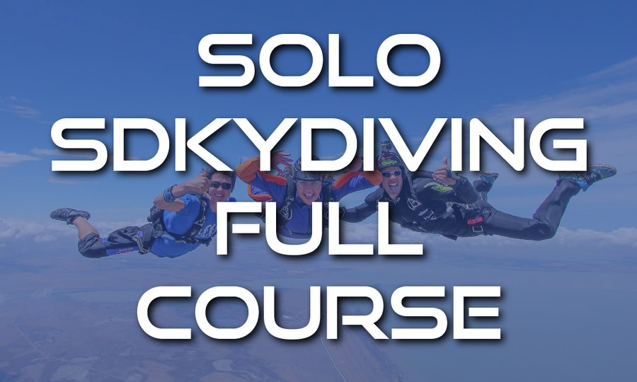SA Skydiving AFF Solo Skydiving Course (Weekend Course)