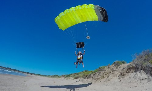 South Australia's most stunning skydive