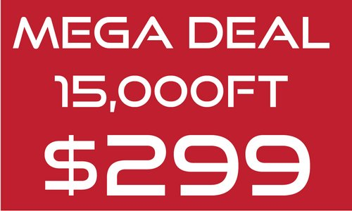Mega Deal - 1 day only - Aug 31st!