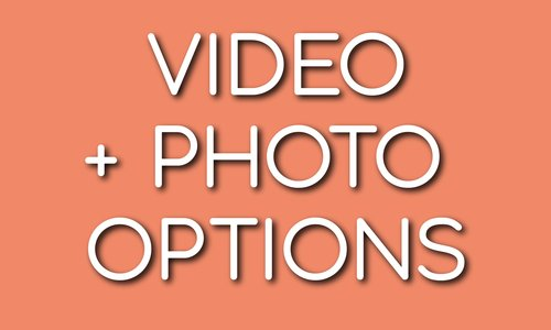 Check out our video options!