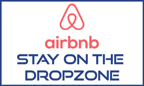 AirBnB - stay on the dropzone!