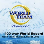 400-Way RW World Record