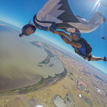 Adelaide young gun Zack celebrates his 100th in style with a wingsuit hybrid!